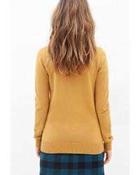 Forever 21 Deep V Neck Sweater