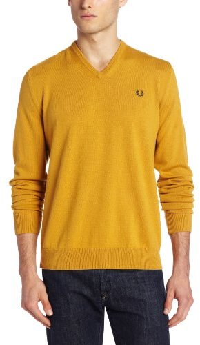 Fred Perry Classic Tipped V Neck Sweater | Where to buy & how to wear