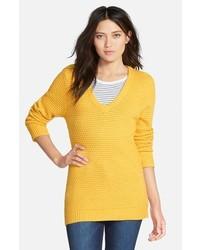 Hinge Easy V Neck Sweater