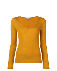 N.Peal Superfine V Neck Sweater