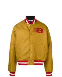 Mustard Varsity Jacket