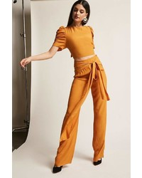 Forever 21 Self Tie Palazzo Pants