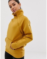 Nike Training Jacket In Gold