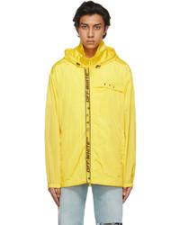 Off-White Yellow Maize Windbreaker Jacket