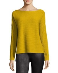 Eileen Fisher Washable Wool Box Top Plus Size