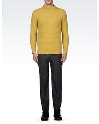 Emporio Armani Round Neck Wool Sweater