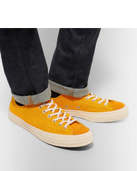 0747f1201aac ... Converse 1970s Chuck Taylor All Star Suede Trimmed Woven Sneakers ...