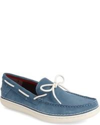 Náuticos de ante azules de Calvin Klein Jeans