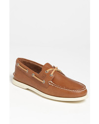 Náuticos de cuero marrón claro de Sperry Top-Sider