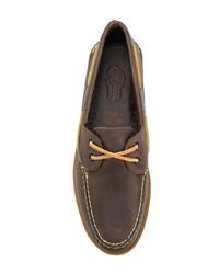 Náuticos de cuero marrónes de Sperry Top-Sider