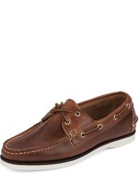 Náuticos de cuero marrónes de Eastland