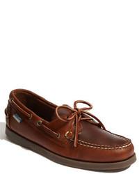 Náuticos de cuero marrónes de Sebago