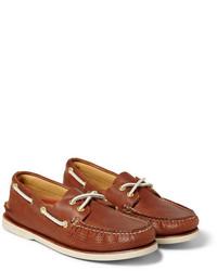Náuticos de cuero marrónes de Sperry