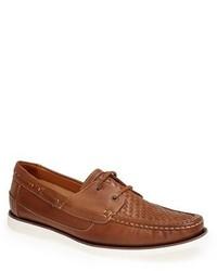 Náuticos de cuero marrónes de Tommy Bahama