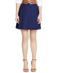 Lauren Ralph Lauren Pleated A Line Skirt