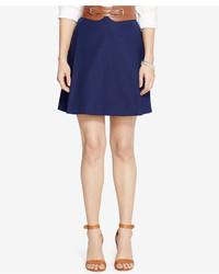 Pleated a line skirt medium 813936