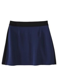 Xhilaration Juniors A Line Skirt Navy M