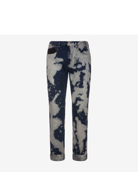 Printed denim jeans medium 3766179