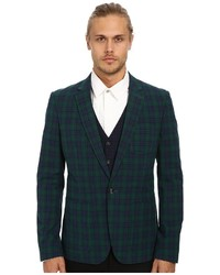 Navy and Green Blazers for Men | Men's Fashion
