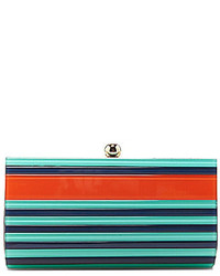 Striped frame clutch medium 241964