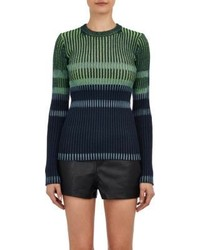 Alexander Wang T By Beach Stripe Sweater Multi