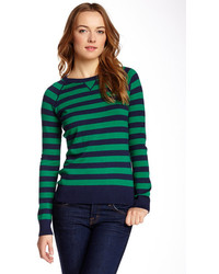 Kersh Press Kersh Striped Raglan Sleeve Sweater