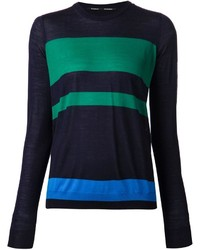 Proenza Schouler Striped Oversize Sweater