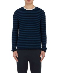 Vince Striped Cotton Sweater