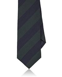 Bigi Striped Wool Silk Necktie