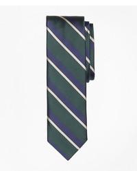 Brooks Brothers Stripe Silk Slim Tie