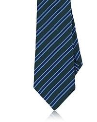 Kiton Striped Silk Necktie