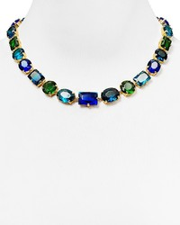 ABS by Allen Schwartz Multicolor Stone Collar Necklace 17