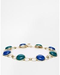 Nali Choker Necklace Bluegreen