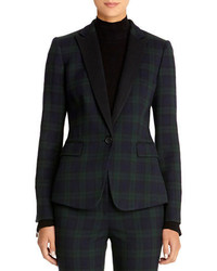 Plaid blazer medium 115363
