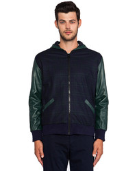 Timo Weiland Greg Combo Hooded Jacket