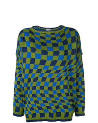Molly Goddard Optical Pattern Sweater