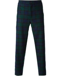 Golden Goose Deluxe Brand Bob Checked Relaxed Trousers