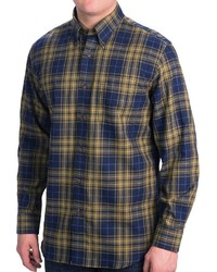 Pendleton Canterbury Cloth Shirt Pima Cotton Merino Wool Long Sleeve