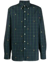 Polo Ralph Lauren Crest Embroidered Checked Shirt