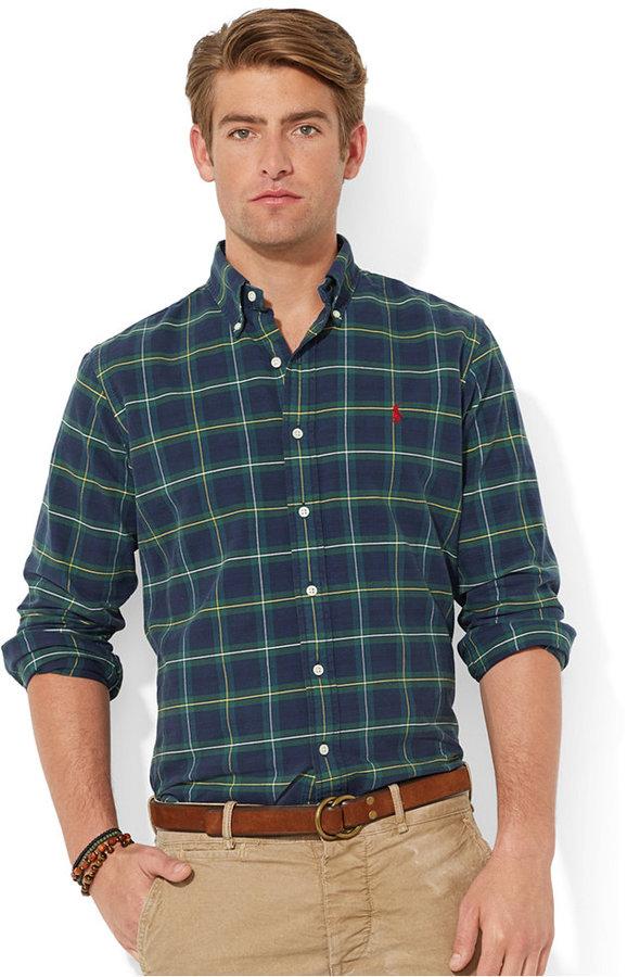 ... Polo Ralph Lauren Plaid Oxford Shirt ... 4e61e2a78644