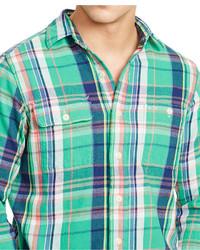 6848f0a78 ... Navy and Green Plaid Long Sleeve Shirts Polo Ralph Lauren Plaid Twill  Workshirt Polo Ralph Lauren Plaid Twill Workshirt Polo Ralph Lauren Plaid  Twill ...