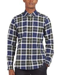 Barbour Tailored Fit Stretch Tartan Shirt