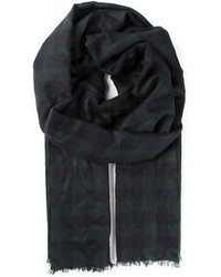 Hamper checked scarf medium 97261