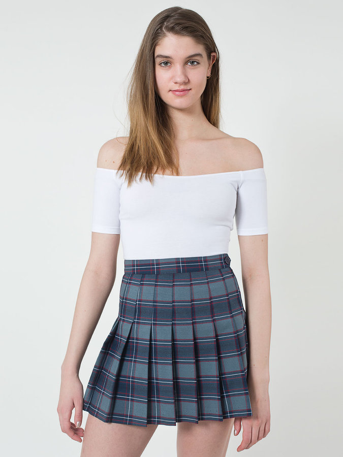 American Apparel Plaid Tennis Skirt | Where to buy & how to wear