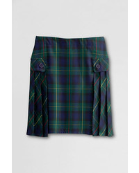Side pleat plaid skort medium 204308