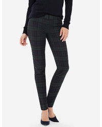 The Limited Drew Plaid Skinny Pants