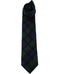 Drakes London Plaid Tie