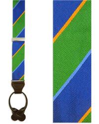The Tie Bar Boarding Stripe Kellyblue