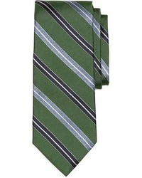 Brooks Brothers Alternating Split Stripe Tie