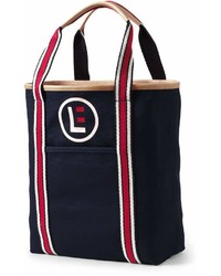 Landsend circle logo canvas tote medium 7014557